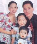 Gia đình nghệ sĩ Đặng Hùng - Vương Linh.