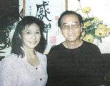 Vợ chồng Lân Bích - Minh Đức.