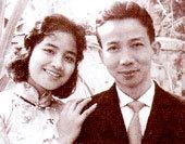 Vợ chồng nghệ sĩ Thanh Tú - Phạm Kỳ Nam.