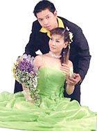 Vợ chồng nghệ sĩ Thái Hòa - Cát Phượng.