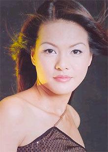 Người mẫu - diễn viên Hoàng Xuân.