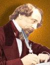 Nhà văn Charles Dickens.