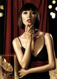 Người mẫu Xuân Lan. (Ảnh: model.com.vn)
