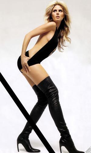 1. Heidi Klum. Ảnh: CelePro