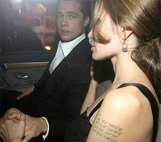 Angelina Jolie và Brad Pitt