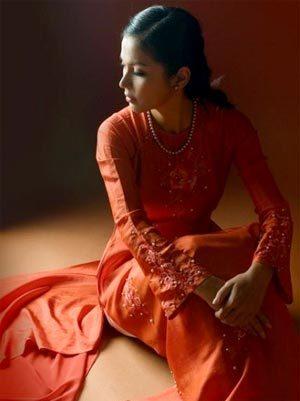 Diễn viên Việt Trinh. Ảnh: quochuyphoto.com.