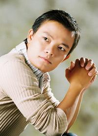 Chân dung Thanh Phương trên blog của anh.