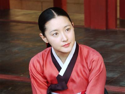 Lee Young Ae trong vai Dae Jang Geum. Ảnh: zzdesk.