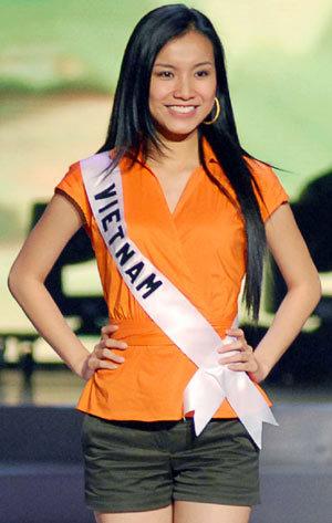 Hoa hậu Việt Nam Nguyễn Thùy Lâm