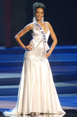 Hoa hậu Nam Phi.