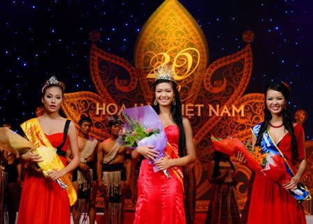 Cả 3 người đẹp Hoa hậu Việt Nam 2008 đều đã bị loịa khỏi cuộc chơi Miss World.