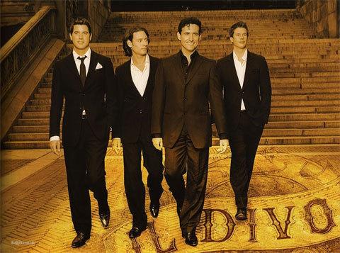 Ban nhạc đa quốc tịch Il Divo. Ảnh: wallpaper.