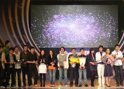 Các nhạc sĩ tham gia Bài hát Việt 2008.