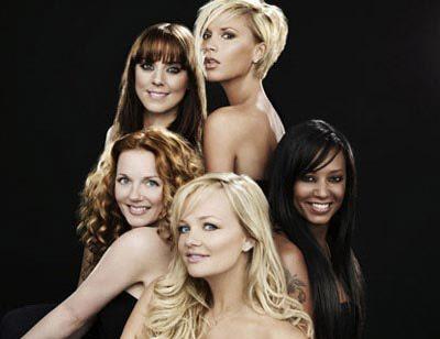 Ban nhạc Spice Girls thời hoàng kim.