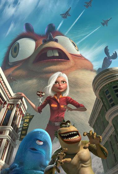 Nhóm quái vật lên đường bảo vệ trái đất. Ảnh: Dreamworks.