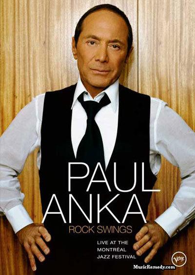 Nam danh ca Paul Anka.