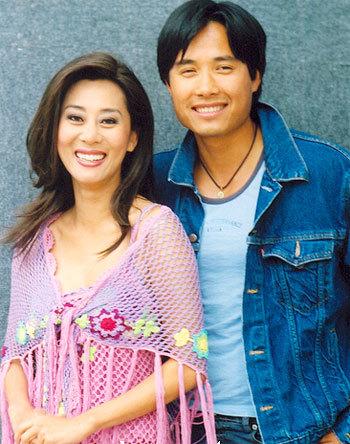 Cặp vợ chồng nổi tiếng Trịnh Hội - Kỳ Duyên khi còn chung sống. Ảnh: st.
