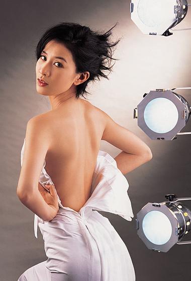 Diễn viên Xa Thi Mạn. Ảnh: HKstar.