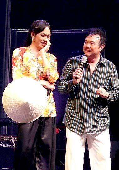 Cặp diễn hài Hoài Linh - Chí Tài (phải) chiếm nhiều tình cảm của khán giả. Ảnh: P.N.