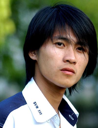 Nhà văn Trung Quốc Hàn Hàn.