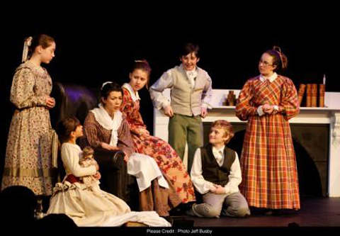 Vở kịch diễn tại nhà hát opera Victoria ở Melbourne, Úc vào năm 2009. Ảnh: Victoria Opera.