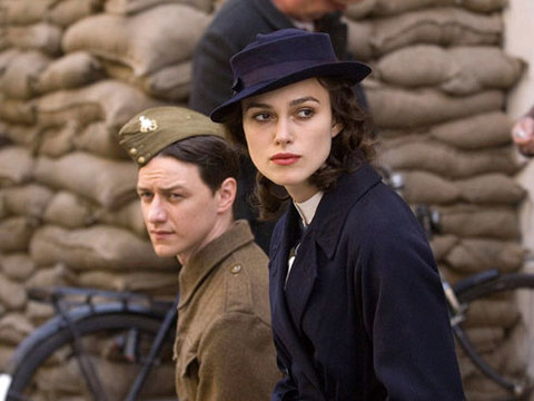 James McAvoy và Keira Knightley trong