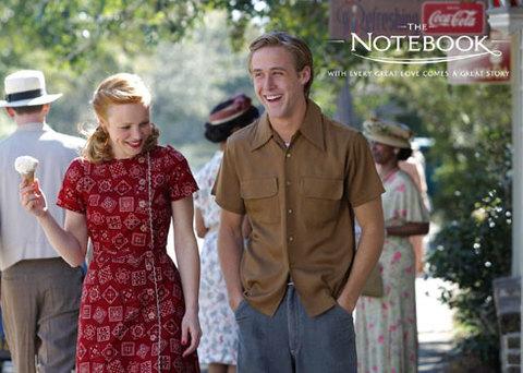 Ryan Gosling và Rachel McAdams trong phim