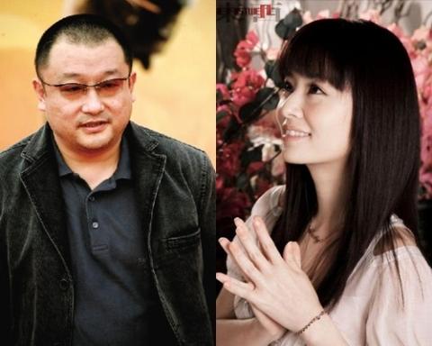 Đạo diễn Vương Tiểu Soái và nữ diễn viên Lâm Tâm Như. Ảnh: