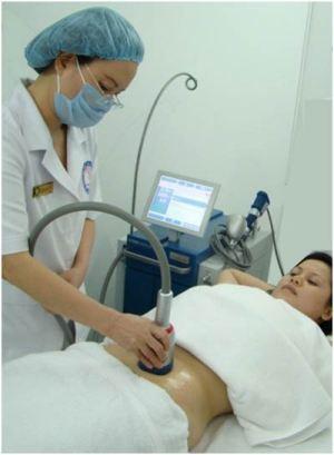 Điều trị thon gọn bụng bằng Sóng Âm tại TMV Bác Sĩ Tú
