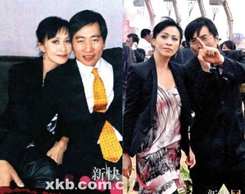 2 bức ảnh bị đăng lên tạp chí của Lưu Gia Linh và người đàn ông được cho là tỷ phú Hong Kong.