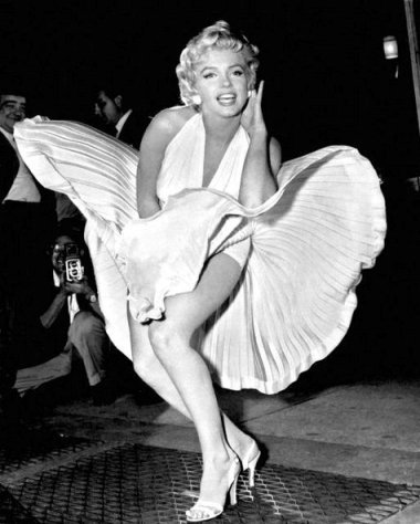 Cảnh quay kinh điển của Marilyn Monroe trong