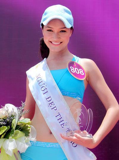 Chiến thắng của Thúy Vy được hầu hết mọi người đồng tình. Giải thưởng Người đẹp Thể thao giúp Thúy Vy là thí sinh đầu tiên vào Top 15 HHTG Người Việt 2010.