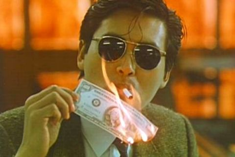 Châu Nhuận Phát trong bản phim năm 1986. Ảnh: