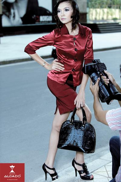 Hạ Thị Hoàng Anh (Người đẹp Áo dài cuộc thi Hoa hậu Thế giới người Việt).