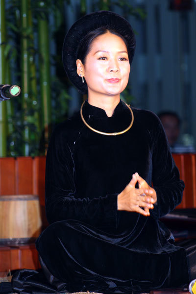 Ca nương Phạm Thị Huệ.