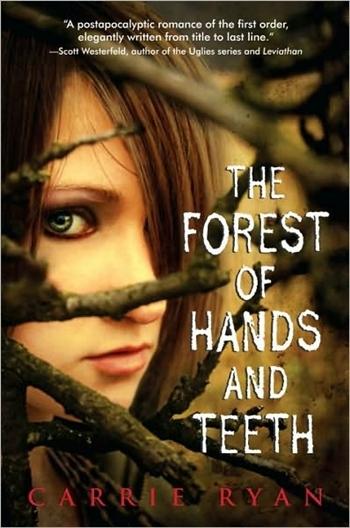 Bìa cuốn Rừng Răng - Tay phát hành tại Mỹ.