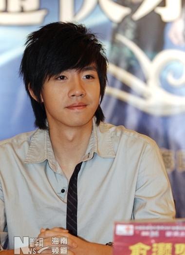 Nam diễn viên Du Hạo Minh. Ảnh: xinhuanet.