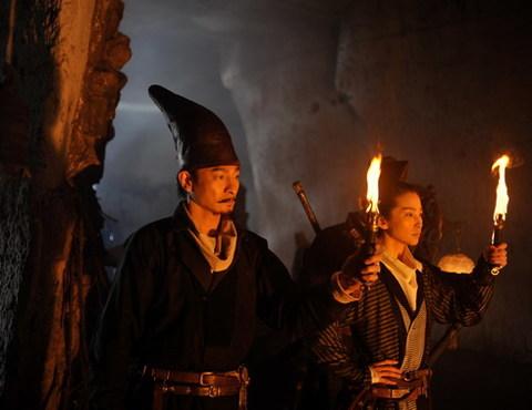 Lưu Đức Hoa và Lý Băng Băng trong phim