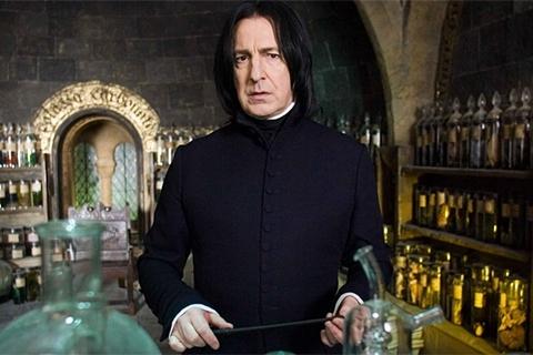 Xấu: Tất cả trang phục của Giáo sư Severus Snape. Thầy Snape không được Rowling và đoàn làm phim ưu ái về mặt ngoại hình. Thầy không có sở thích ăn diện như giáo sư bảnh chọe Gilderoy Lockhart, chính xác hơn là thầy Snape ở thái cực đối lập với thầy Lockhart. Vẻ ngoài thường thấy của thầy Snape là bộ áo choàng đen từ đầu đến chân trông rất nhàm chán với mái tóc có vẻ như không được gội thường xuyên. Cách đối xử bất công của thầy với Harry trong mấy tập đầu khiến độc giả căm ghét thầy. Nhưng cuối cùng, khi sự thật về cuộc đời đau buồn của thầy được làm sáng tỏ, cũng như lòng cao thượng của thầy được minh chứng, nhất loạt độc giả và khán giả đều yêu mến thầy.