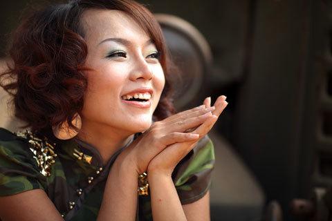 Ca sĩ Thái Thùy Linh