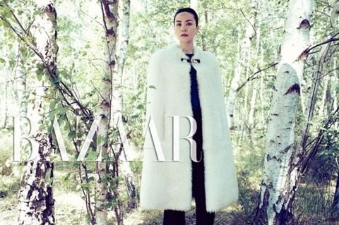 Vương Phi. Ảnh: Harper's Bazaar.
