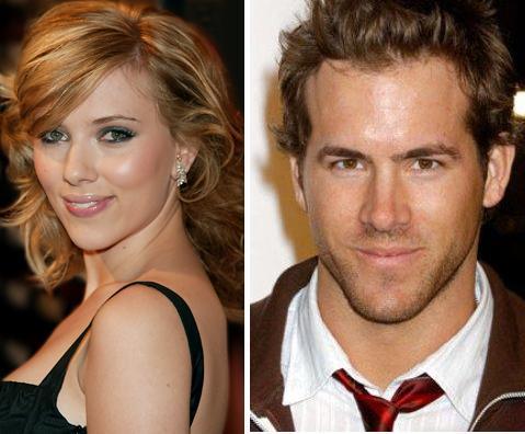 Scarlett Johansson và Ryan Reynolds. Ảnh: allnewmoviereviews.