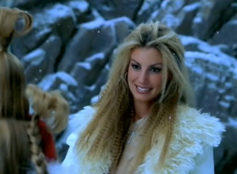 Faith Hill trong video
