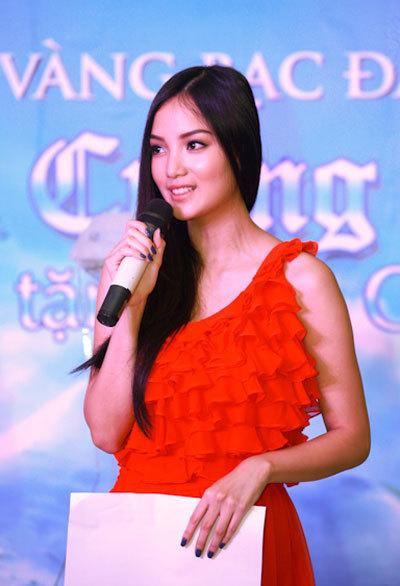 Người đẹp Việt có nét giống HHTG 2007 Trương Tử Lâm cho rằng, một trong những điều cô tâm đắc nhất trong cuộc thi là được kết bạn với rất nhiều người. Đến giờ rất nhiều trong số họ trở thành bạn thân của cô.