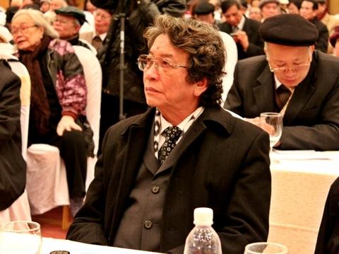 Nhạc sĩ Phó Đức Phương, giám đốc Trung tâm bảo vệ quyền tác giả âm nhạc Việt Nam.