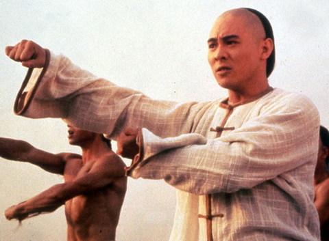 Lý Liên Kiệt và vai diễn nổi tiếng - Hoàng Phi Hồng - vào năm 1990.
