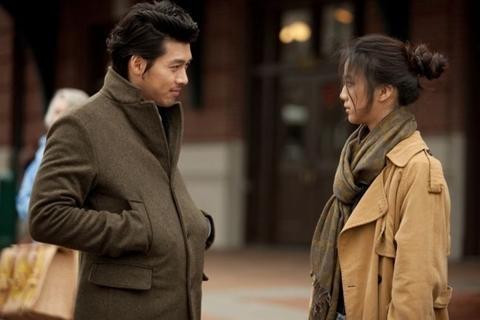 Hyun Bin và Thang Duy trong phim. Ảnh: Hancinema.
