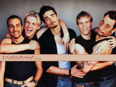 Nhóm Backstreet Boys.