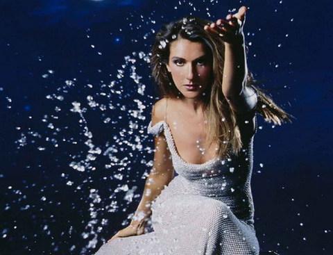 Ca sĩ Celine Dion.