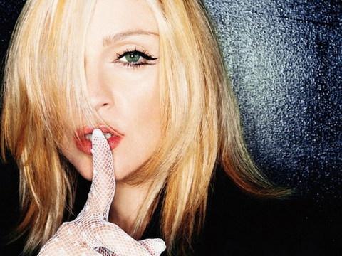 Ca sĩ Madonna.